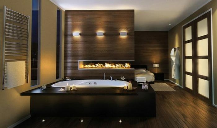 Comment agencer une salle de bain géant marbre aménagement