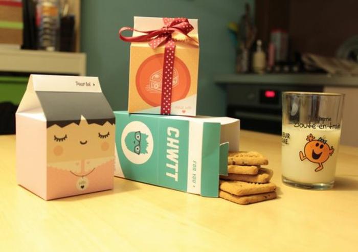 Nos idées pour petit cadeaux pour invites anniversaire boite de cookies