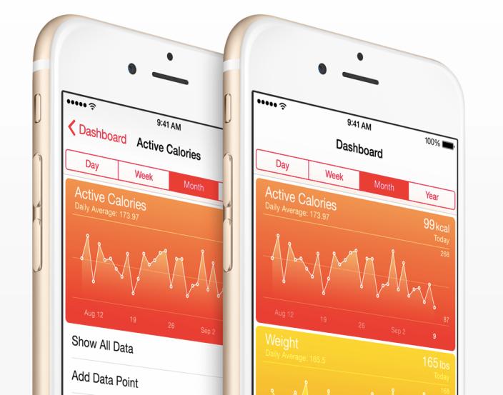 application pour maigrir, iphone health app, comment perdre du poids, calculateur des pas, santé, surveiller votre poids