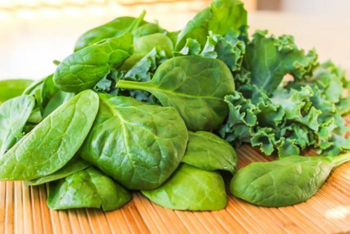 épinardes, laitue, salades, choux, légumes à feuilles vertes, coupe faim naturel, manger sain, sans calories