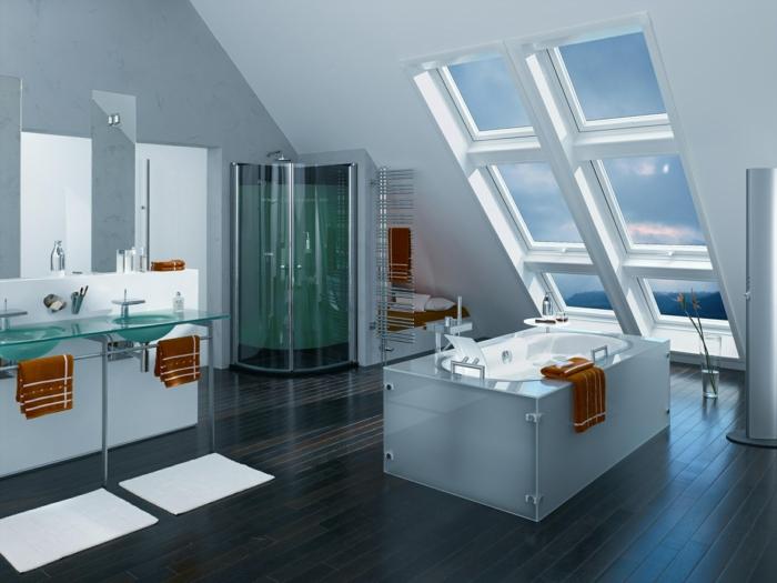 Amenagement salle de bain modele de salle de bain aménagement