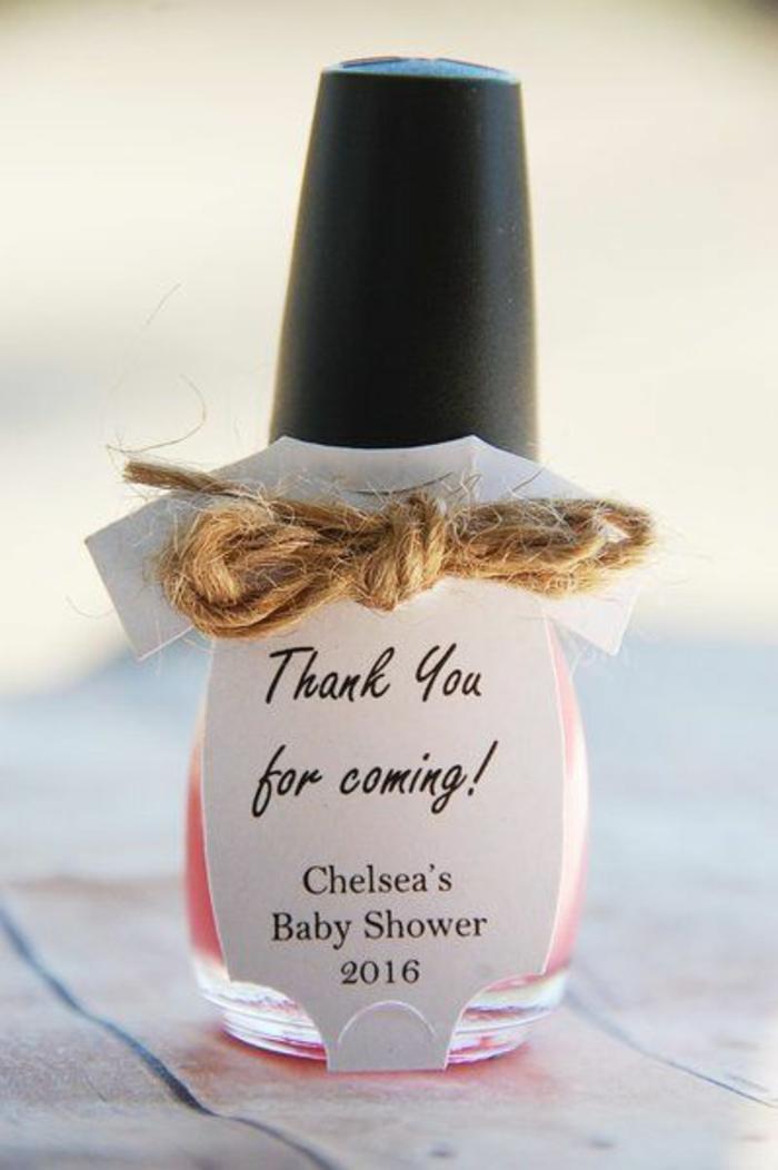 Excellente idée petit cadeau rigolo mercie pour venir baby shower