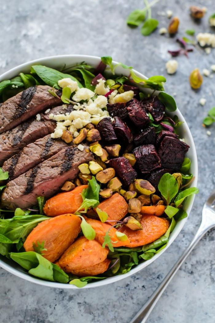 Salade idee recette salade crudité - recette salade été