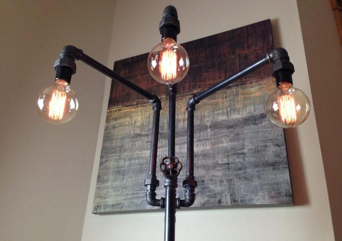 lampe design style usine deco industrielle