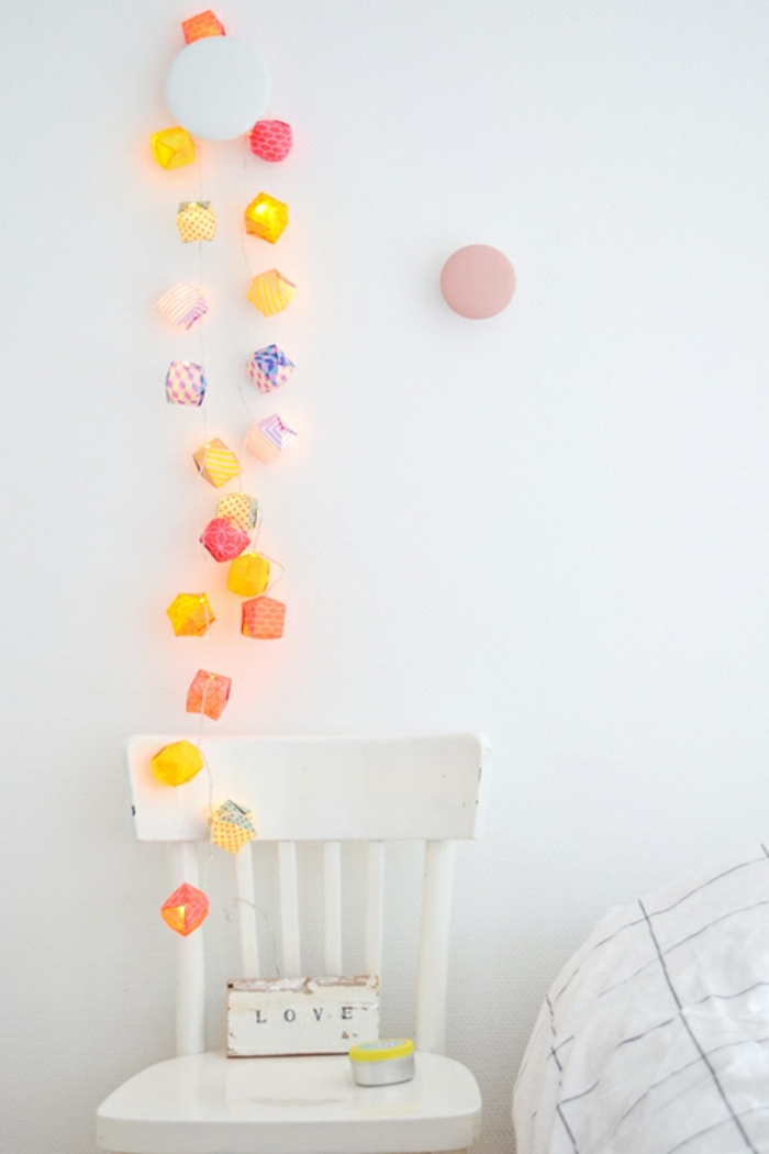 Best guirlande origami chambre bebe ideas - Guirlande lumineuse chambre garcon ...