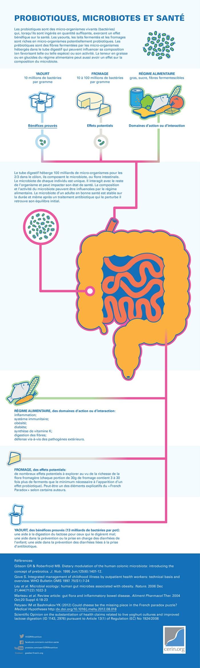 pro biotiques pour la bonne santé information en images