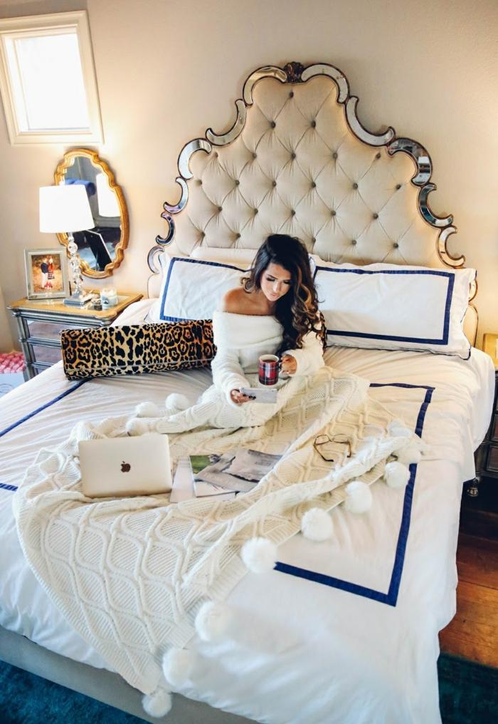 ▷ 1001+ designs superbes pour votre chambre à coucher avec un lit ...