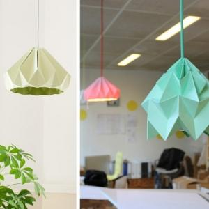 Réalisez un luminaire origami pour illuminer votre domicile - astuces et tutos détaillés
