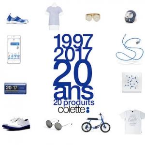 20 produits collectors pour les 20 ans du magasin colette Paris