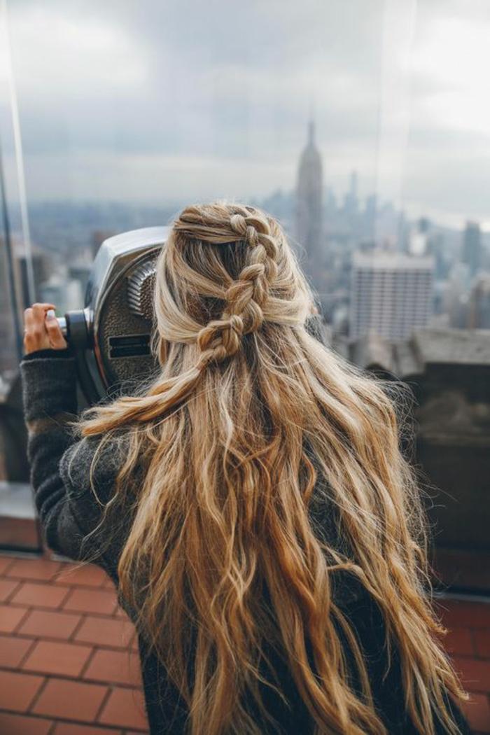 Fantastique idée coiffure boheme coiffure anniversaire New York