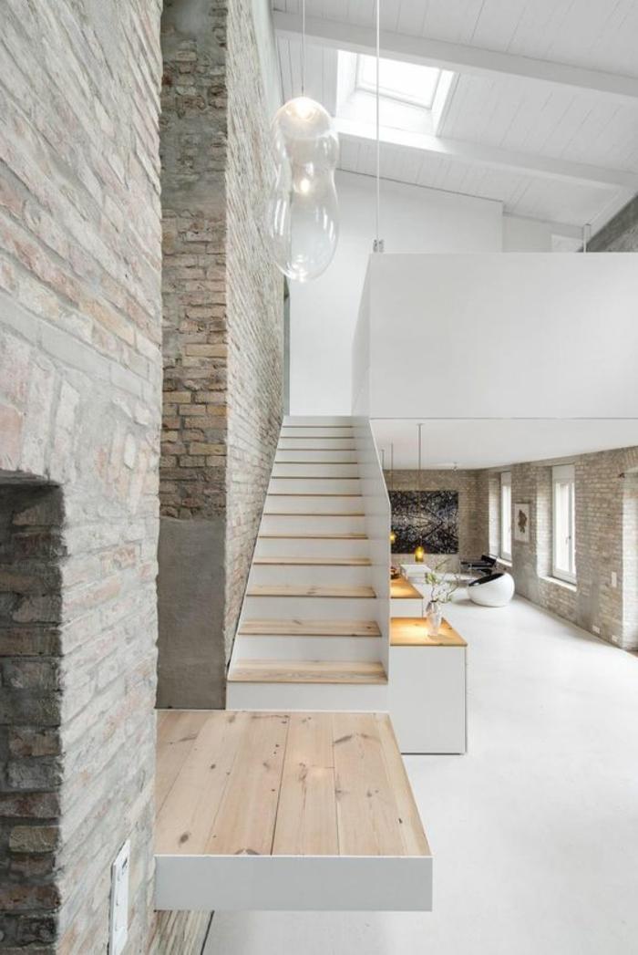 1001 photos inspirantes d 39 int rieur minimaliste for Interieur gris et blanc