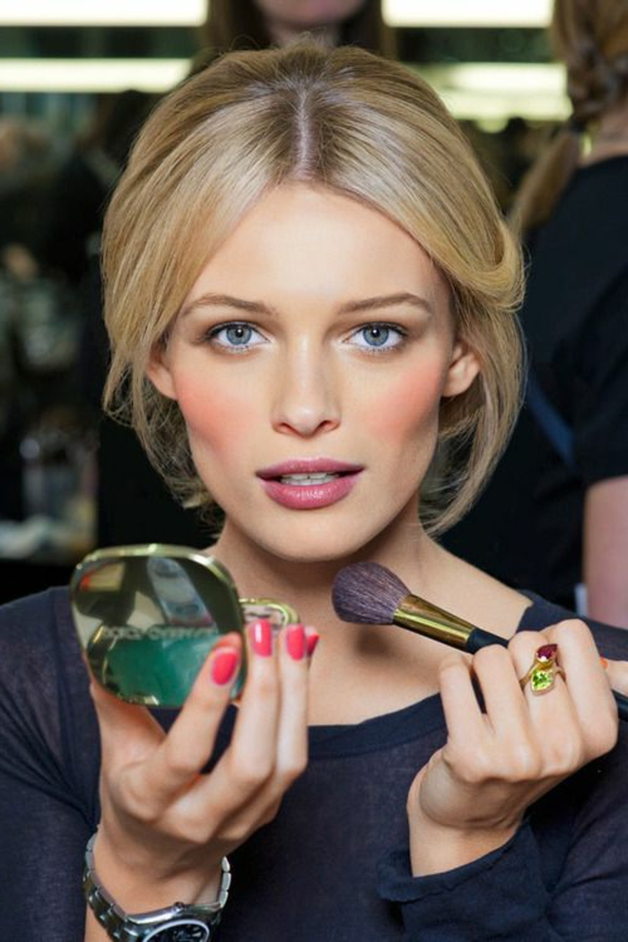 maquillage nude, comment se maquiller bien de façon neutre