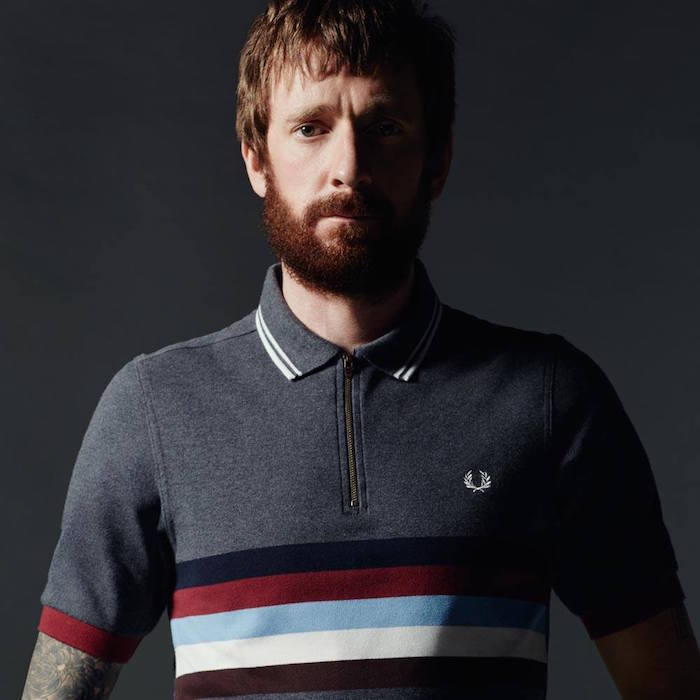 polo cycling fred perry homme tenue anglaise