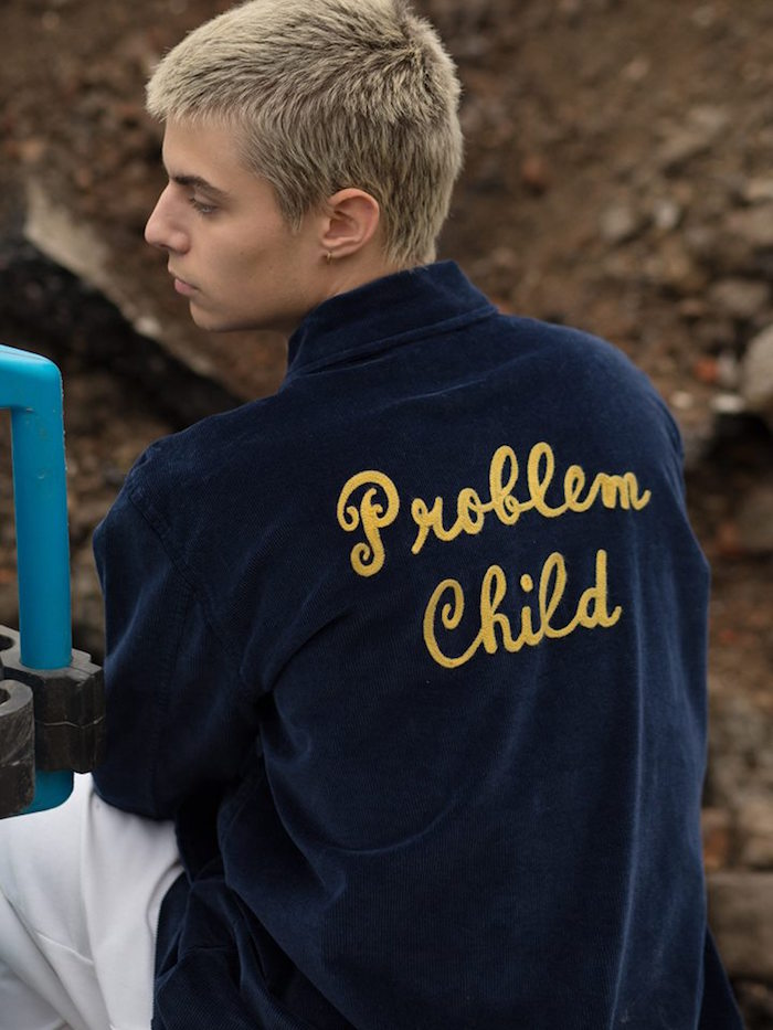marques anglaises en vogue lazy oaf veste problem child