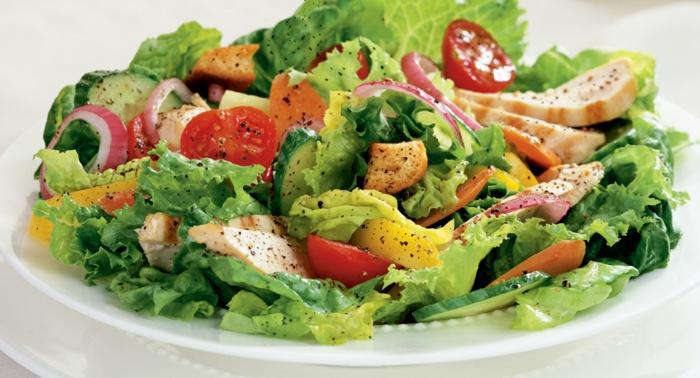 Admirable idée salade composée originale; salade froide