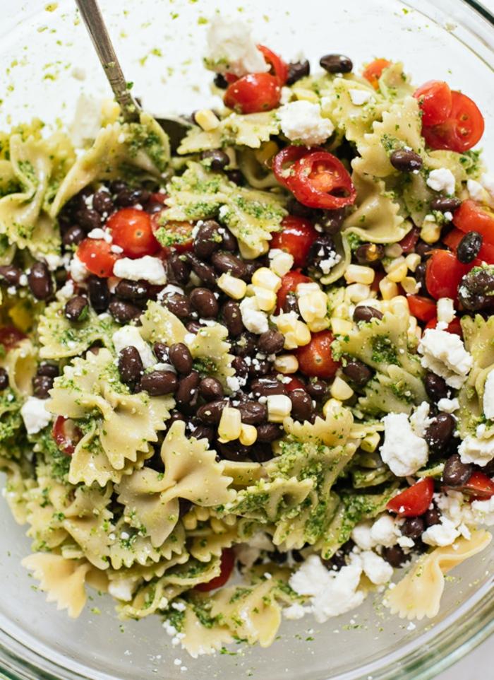 Salade composée originale pour buffet froid recette sale