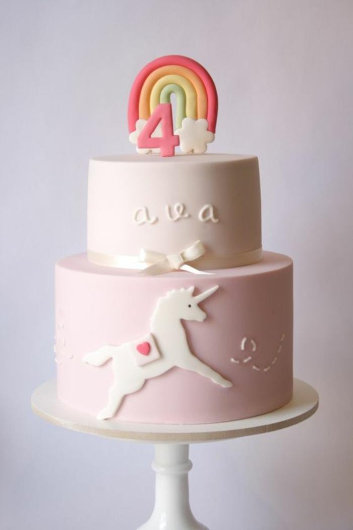 1001 Idées De Gâteau Licorne Magique Pour Lanniversaire De Votre