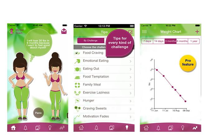 conseils, photos motivantes, conseils, carnet de régime, calculateur de calories, aide, soutien pour maigrir, surveiller votre poids