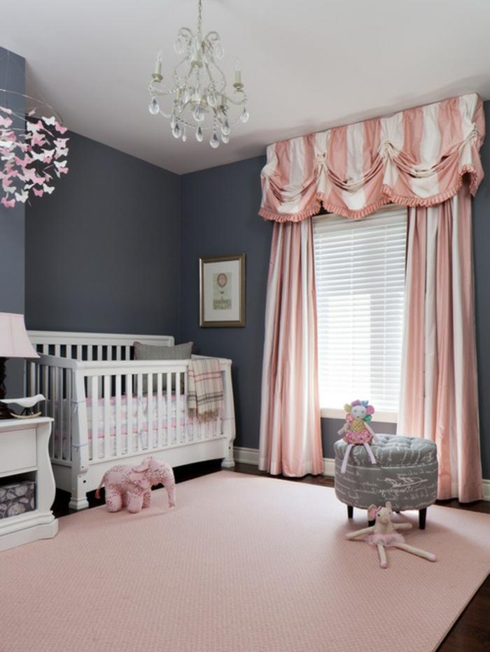 Chambre Fille Saumon : Conseils et idées pour une chambre en rose gris
