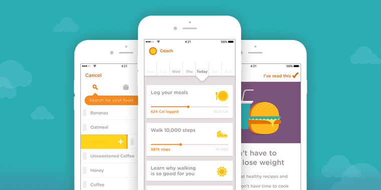 android application pour maigrir