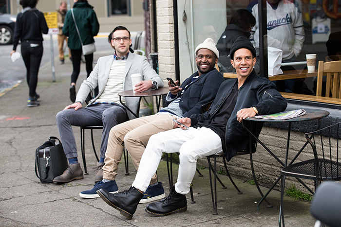 chinos h&m homme pantalon serré en bas blanc beige gris chino