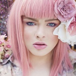 Les cheveux rose foncé ou pastel - une tendance flashy en 81 photos
