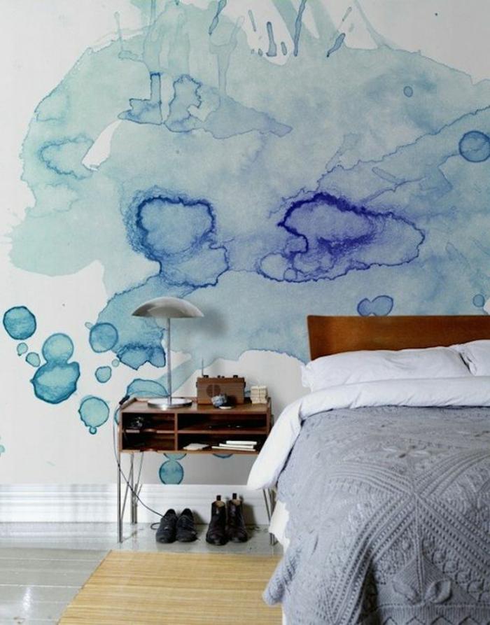 Peinture plafond chambre comment peindre une chambre for Decoration plafond chambre coucher