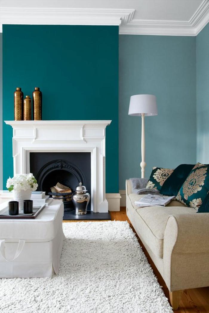 1001 d cors avec la couleur canard pour trouver la meilleure solution. Black Bedroom Furniture Sets. Home Design Ideas