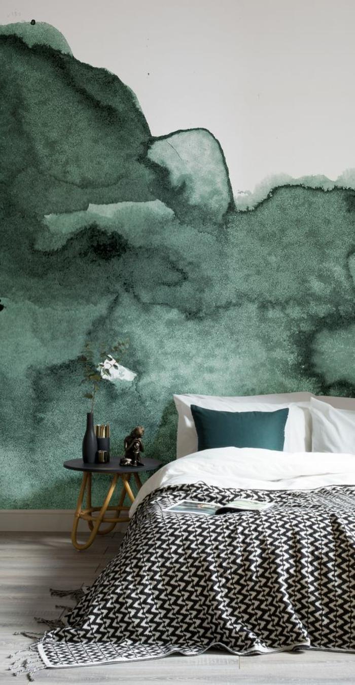 1001 id es pour votre peinture murale originale for Peinture mur chambre