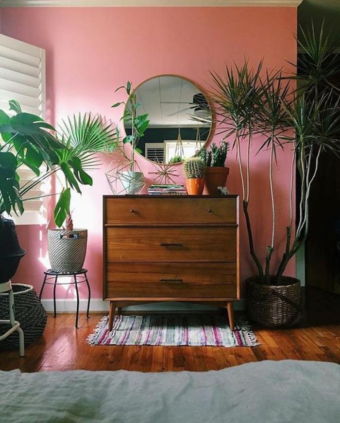 peintures murales tendances peinture murale pour cuisine belle dcoration d un salon sjour. Black Bedroom Furniture Sets. Home Design Ideas