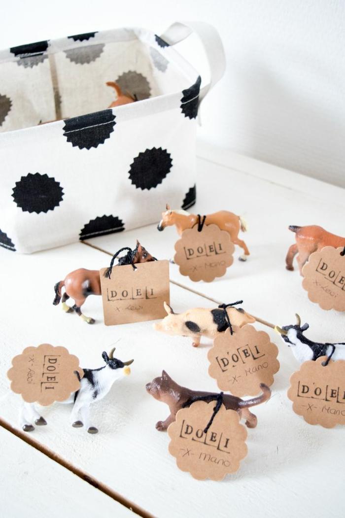 Thematique cadeau invité anniversaire enfants animaux