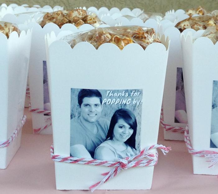 Comment faire cadeaux invités mariage pas cher pop-corn