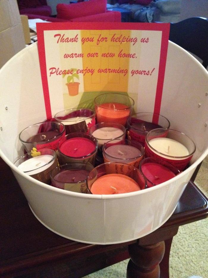 Cadeaux invités anniversaire idée offrir petit cadeau à vos invités bougies pour la maison