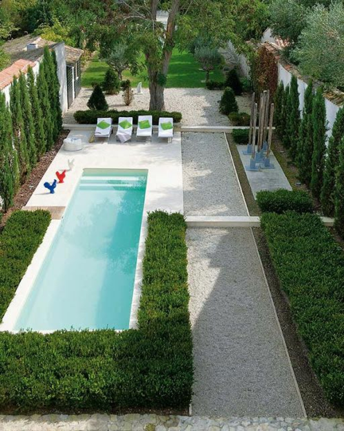 1001 id es d 39 am nagement d 39 un entourage de piscine for Amenagement jardin couloir
