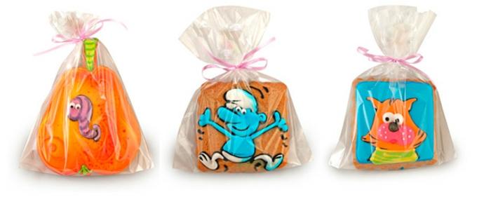 Inspiration photo petit cadeau invité anniversaire biscuits