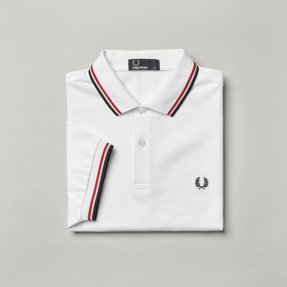 marque connue vetement polo fred perry england