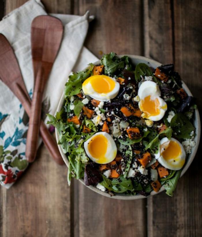 Salades composées originales entrées froides idée à faire