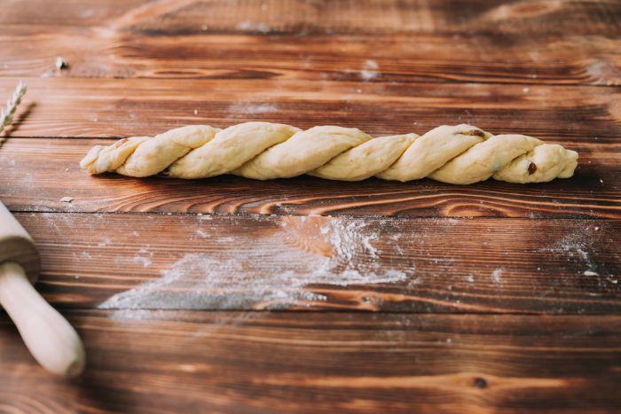 recette brioche maison comme desert de paques, brioche tressée à deux brins à faire pour paques