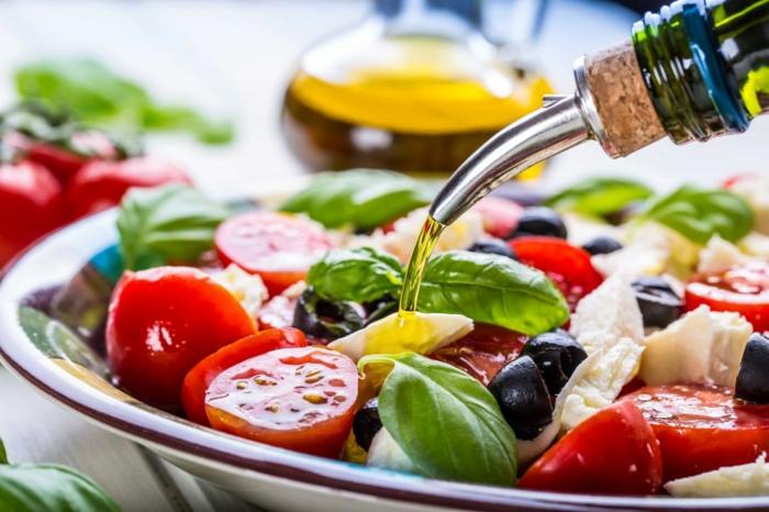 Idee salade d'ete; cool recettes salades fraiches de tomates et olives