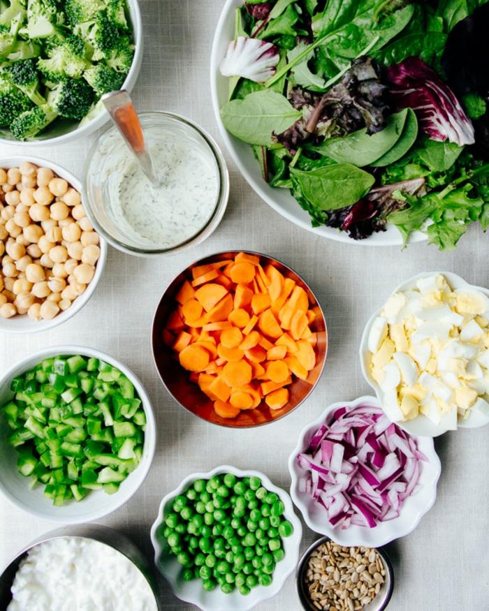 Recette de salade composée; salade recette carottes