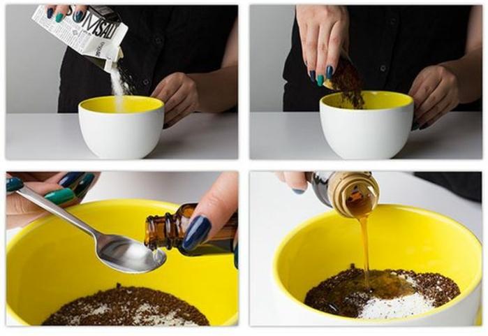 comment fait un gommage pour le corps au sel d'epsom pour une peau éclatante