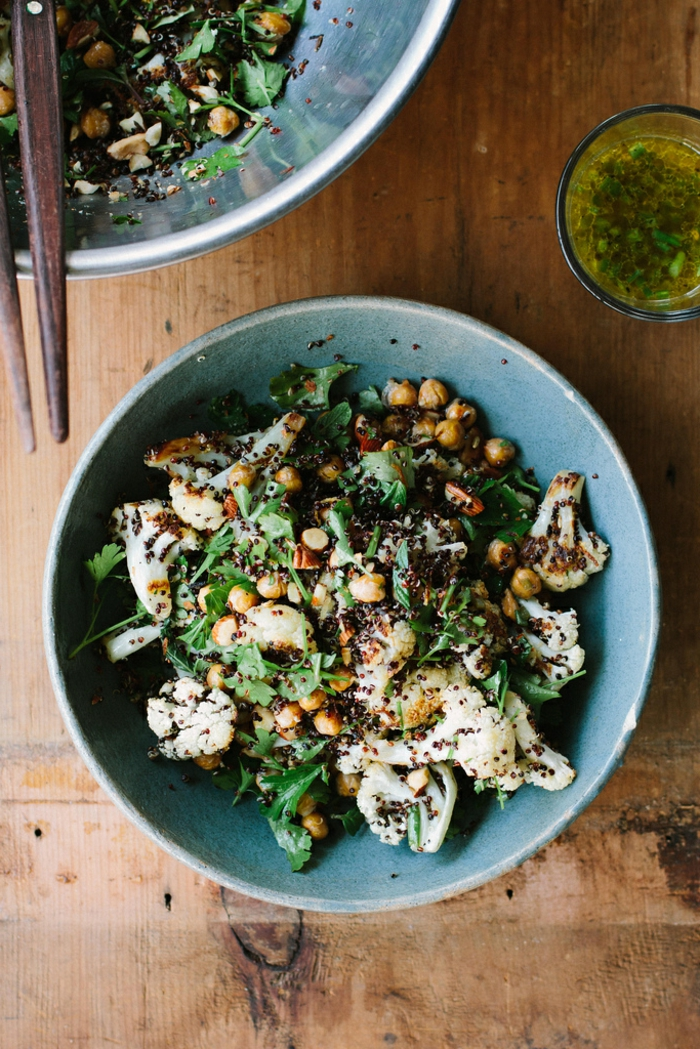 Idée repas été la salade composée d été avec lentile
