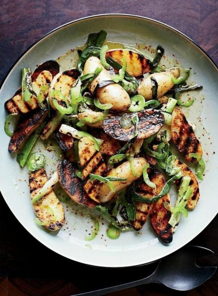 Salades originales; recettes salades composées avec pommes de terre