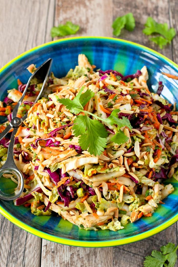 Salade fraiche recette salade composée hiver panier