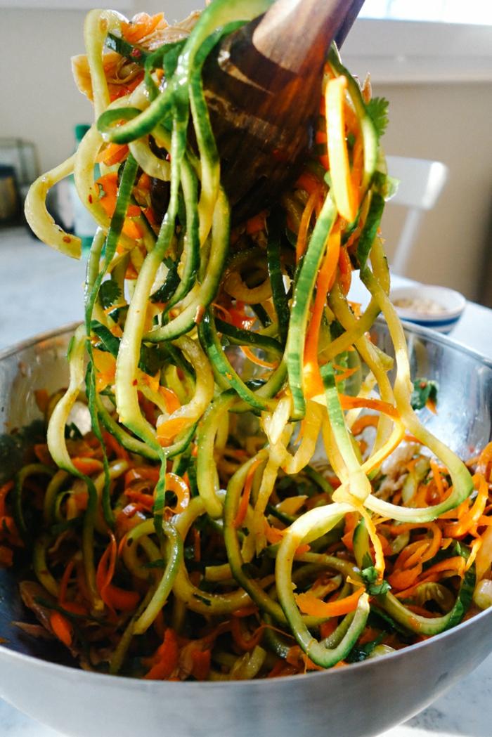 Idée de salade composée une recette salé facile thai