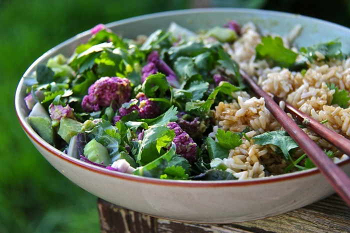 Recettes salade les salades composees gourmand