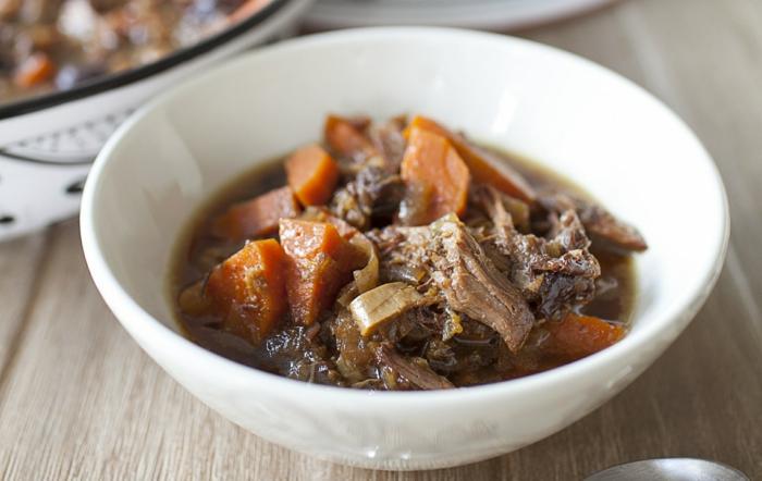 de la soupe d agneau avec des carottes, menu de paques, soupe entree ou plat principal facile à faire
