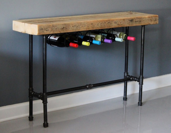 1001 id es meuble industriel une retraite d corative. Black Bedroom Furniture Sets. Home Design Ideas