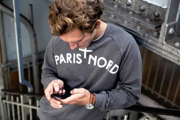 marques made in france vetement marque paris nord sweat gris