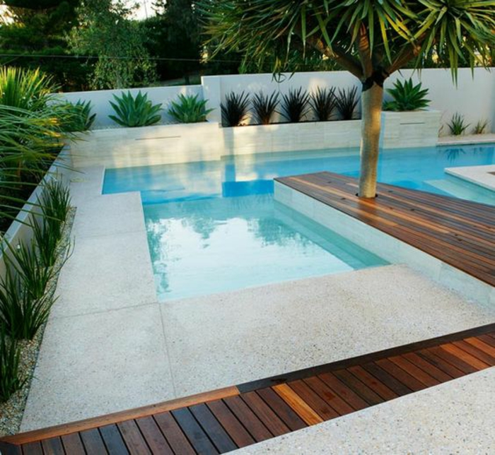Wonderful Pool Finish Ideas For You To Copy: 1001+idées D'aménagement D'un Entourage De Piscine